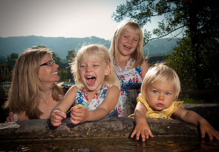 Familien Photoshooting