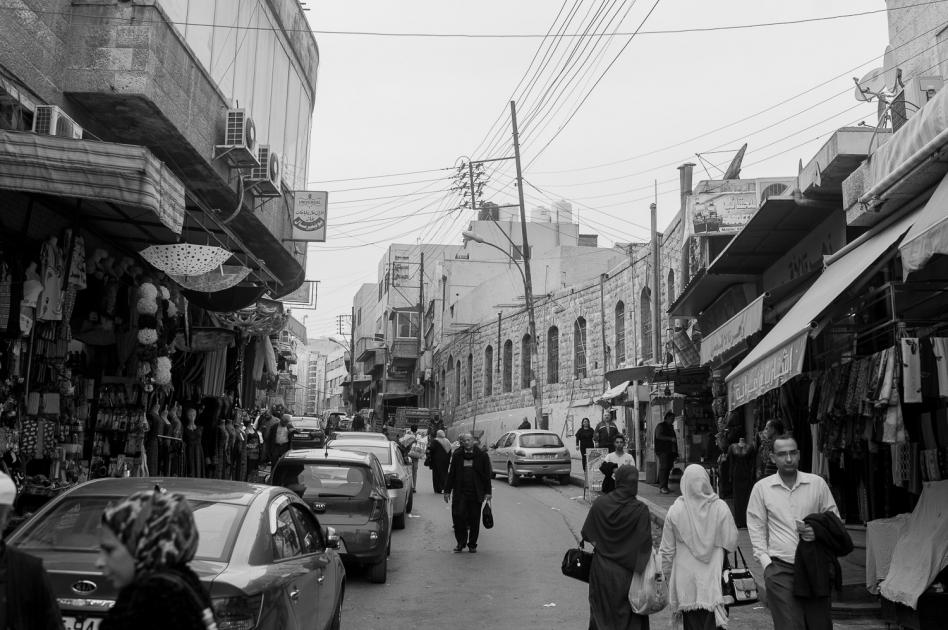 In den Strassen von Amman