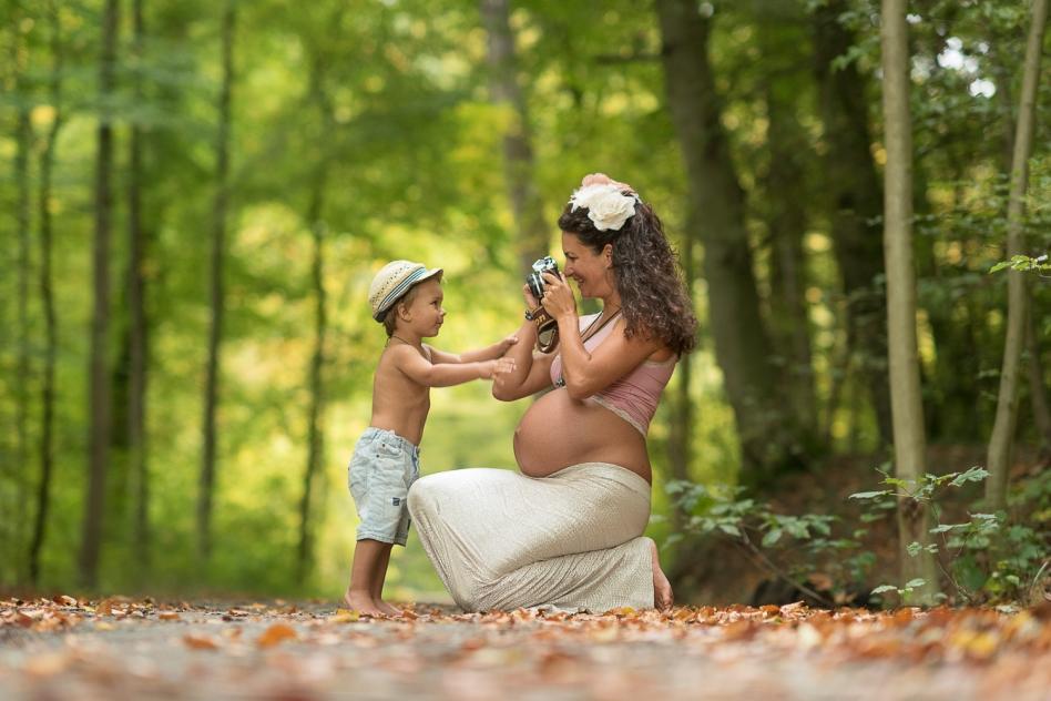 Fotoshooting-Schwangerschaft